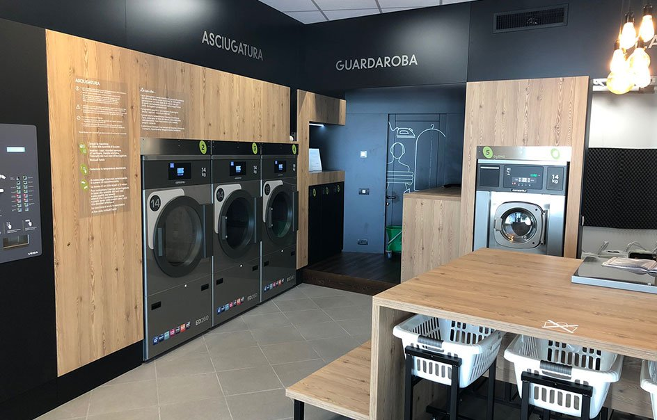 Self Service Wash Laundromats: open your own token-operated