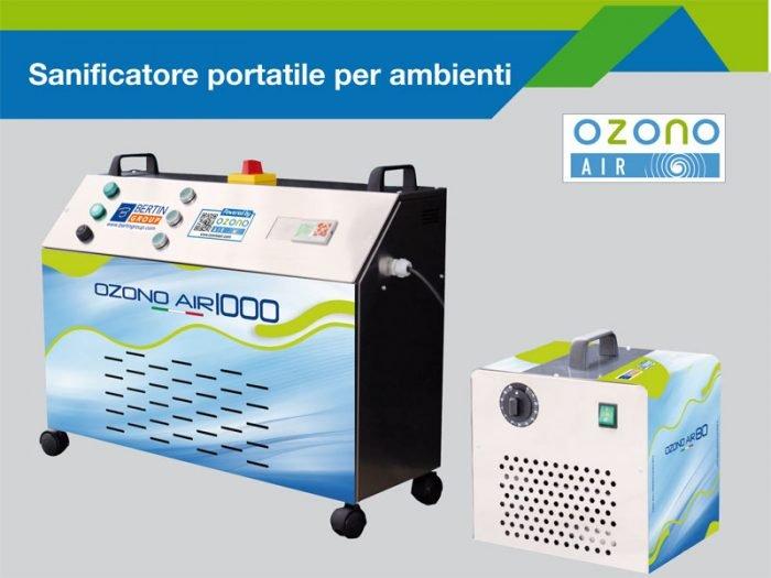sanificazione con Ozono Air