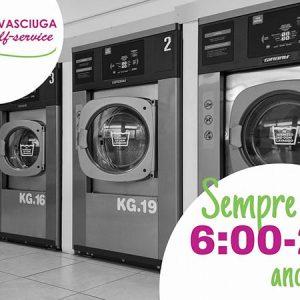"""Lavanderia Selfservice Wash """"Quadrifoglio"""" a San Daniele del Friuli (UD)"""
